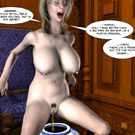 Phantom of the sexual maniac Frightening 3D porn comics