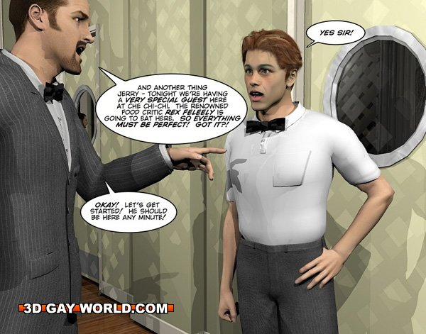 from Charlie pleasing the customer gay comics