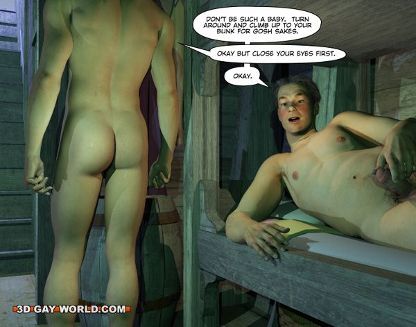 New Adventures of Cabin Boy 3D Gay Cartoon Animated