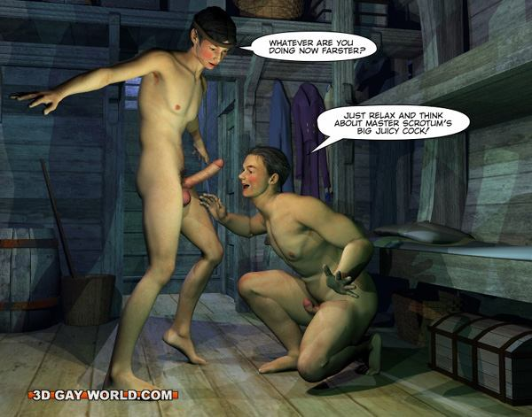 from Wyatt 3d gay cabin boy 4
