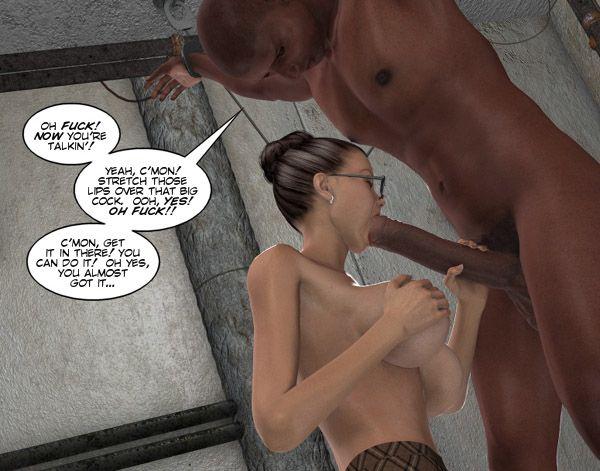 Free stories porn huge interracial