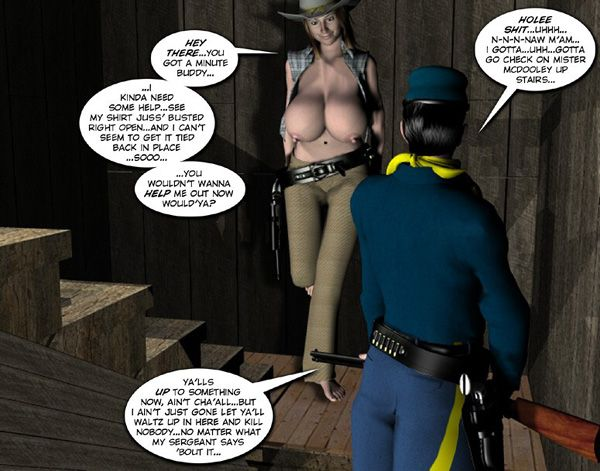 3d comic six gun sisters episode 1 6