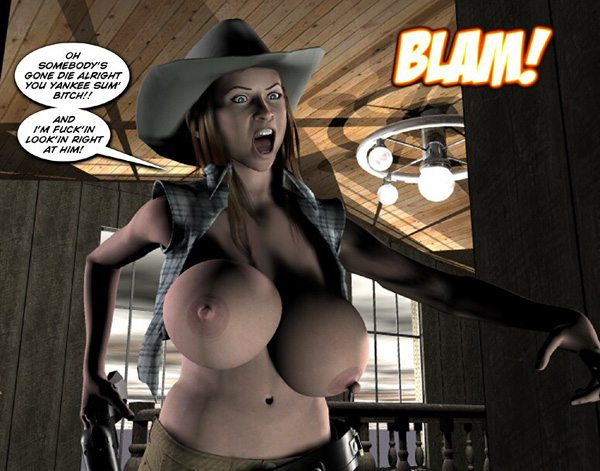 3d comic six gun sisters episode 1 4