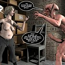 Attack of big cock demon 3D bdsm comics and anime hentai cartoon