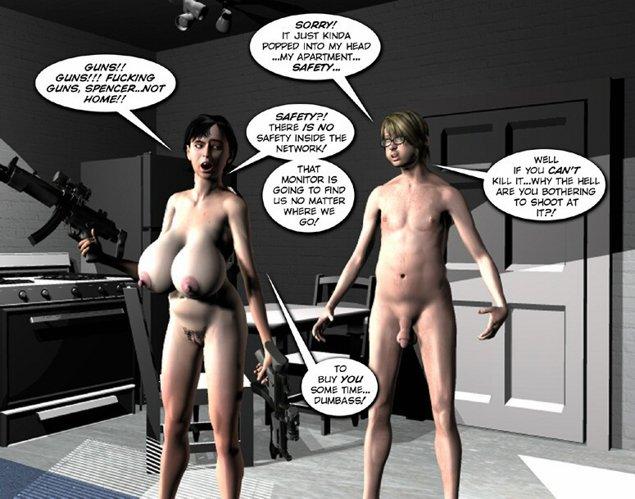 3d comic crazy tgp world